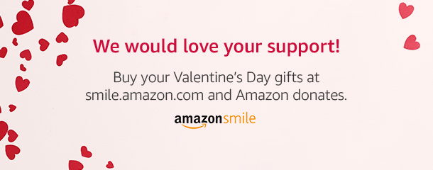 Support us when you shop for your Valentine. Go to smile.amazon.com/ch/27-2230910 and Amazon donates to Southern California Shiba Inu Rescue Inc.