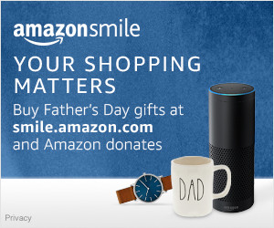 This Father's Day, shop for Dad at smile.amazon.com/ch/27-2230910